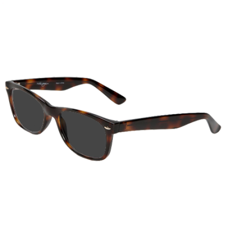 Halogen Retro Inspired Clear Sunglasses