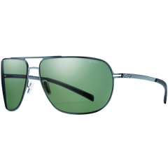 Prada Wraparound Rimless Shield Sunglasses