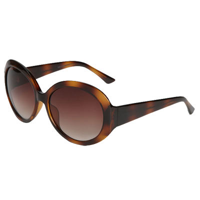 Halogen Round Frame Sunglasses