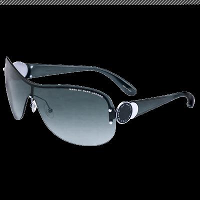 MARC BY MARC JACOBS Metal Logo Shield Sunglasses