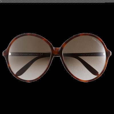 Tom Ford 'Rhonda' Round Sunglasses