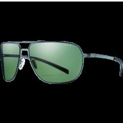 Prada Wraparound Rimless Shield Sunglasses